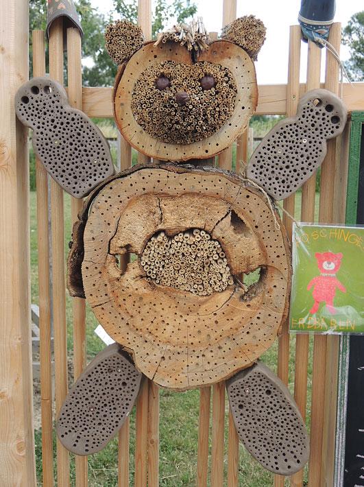 Insektenhotel - Gartenpaedagogik