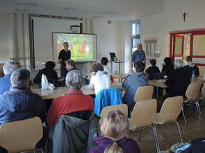 Hochbeetebau-Seminar Gartenpaedagogik