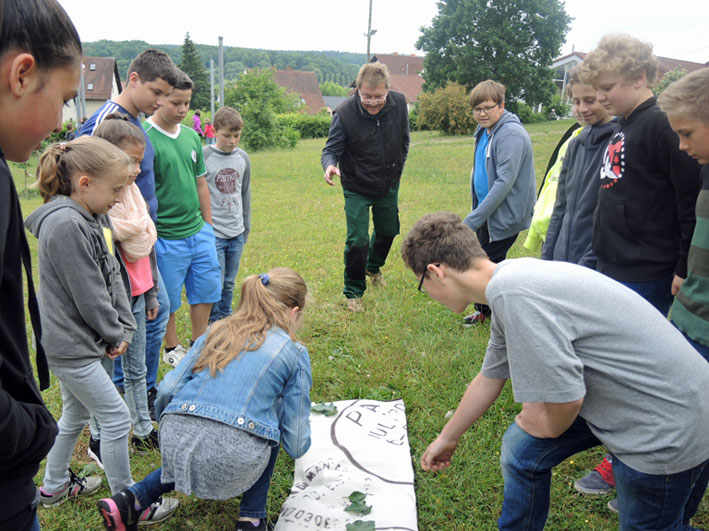 Spiele im Schulgarten, Gartenpaedagogik