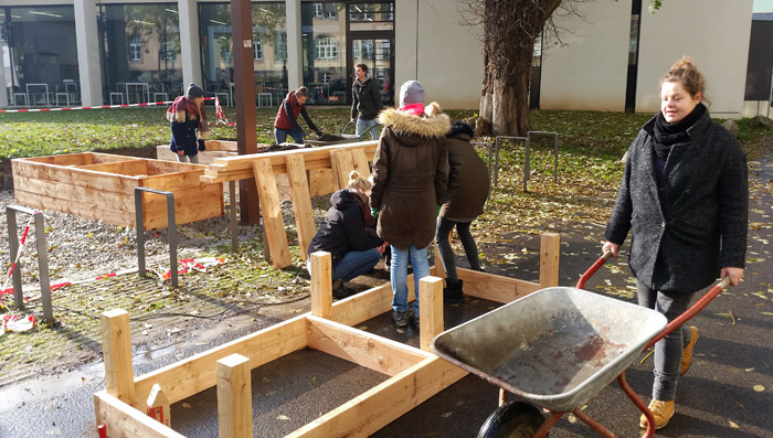 Gartenpädagogik Paetow - Schulgarten Uni Bamberg